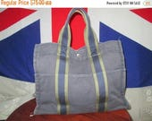 33%OFF Authentic Vintage Hermes Paris Tote Bag Made In France