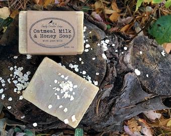 Oatmeal, Milk, & Honey Soap for Sensitive Skin - Unscented