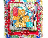Liberty Fabric 65 Patchwork Quilting Scrap Pack Bundle Mixed Colours and Patterns Squares Oblongs Rectangles Flowers Floral Cotton Tana Lawn