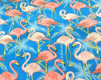 Flamingo Road - Cotton Fabric sold by the Half Yard - Very nice quality - Smoke Free Environment