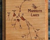MAMMOTH LAKE River Map Wa...