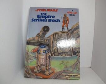 Vintage Star Wars the empire strikes back pop up book