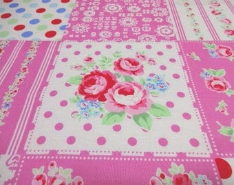Japanese Fabric LECIEN Flower Sugar PatchFlower Pink FQ
