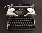 Typewriter, Royal P Series Chrome 1930s