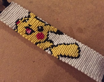 Pikachu Friendship Bracelet - Made to Order