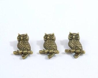 Bronze Metal Owls [MB0003]