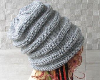 Handknit Dreadlock Hat, Dreads Hat, Tube Hat, Dreads Beanie, Slouch Beanie, Tube Beanie, Rasta Beanie cap, Slouchy Tam,