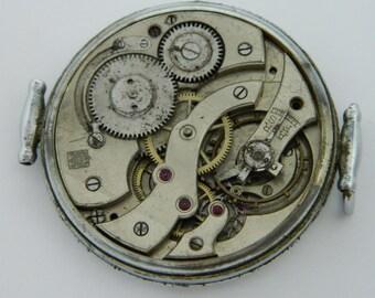 Swiss Watch Mechanism Movement for parts repair not work #849S
