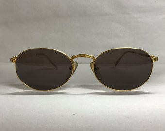 Junior Gaultier Gold vintage sunglasses