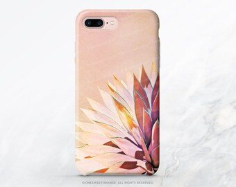 iPhone SE Case Agave Cacti Pastel iPhone 6S Plus Case iPhone 5s Case iPhone 6 Case Samsung S6 TPU Case Galaxy S6 iPhone 6 TPU Case T175