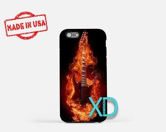 Rock Guitar iPhone Case, Guitar iPhone Case, Rock Guitar iPhone 8 Case, iPhone 6s Case, iPhone 7 Case, Phone Case, iPhone X Case, SE Case