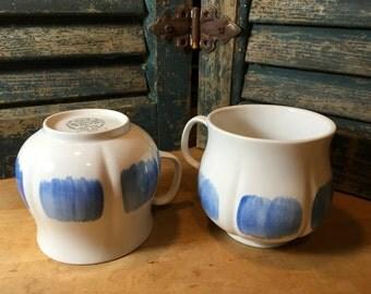 Set of 8 Very Rare 1965 Jaap Penraat Coffee Mugs