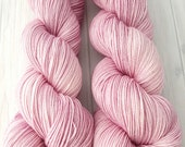 "Hand dyed ""Briar Rose"" superwash merino sock yarn"