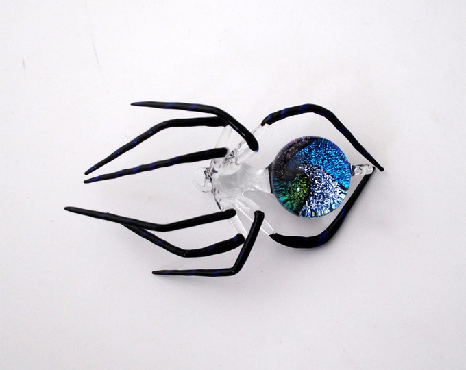 Medium Dichroic Spider with Galaxy Abdomen