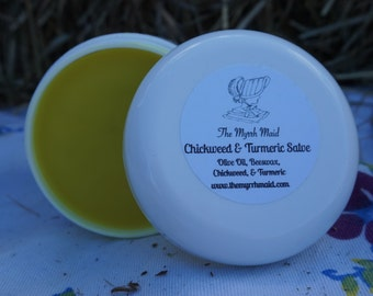 4oz Chickweed & Turmeric Salve