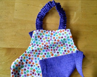 18 inch doll reversible apron