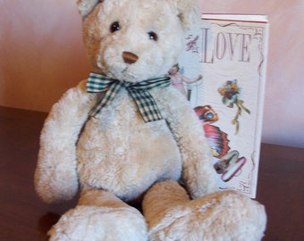 Gund Beary Long Legs 4919 - Rescued Plush Toy Bear, VGC, Bitcoin Accepted