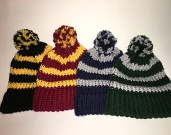 Harry Potter Loom Knit Hat