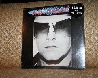 """Rare 1979 Elton John """"Victimn of Love"""" Vinyl Album Sealed in Shrinkwrap!  MCA-5104!  Never Opened!"""