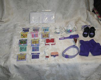Rare & Collectible Vintage 1990s AMAZING ALLY Accessories!  All / Everything That Goes With the Doll!  Everything Listed on Box!