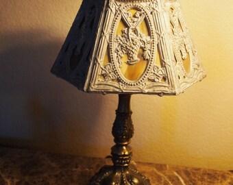 1920s Slag Lamp