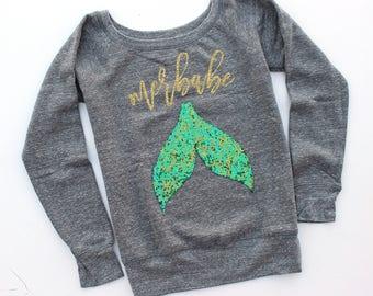 Sequin Mermaid Shirt. Merbabe. Mermaid Sweatshirt. Mermaid Party. Sequin Mermaid Tail. Sequin Sweatshirt Jumper. Tumblr. Mermaid. Siren