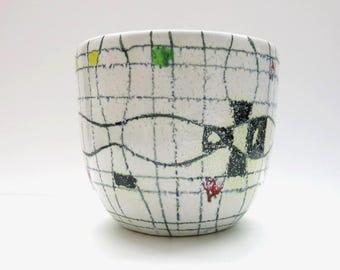 Aldo Londi / Bitossi | Early flowerpot Italy Pottery / Mid Century 50s Design