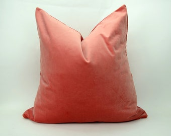 Coral Pillow Case Etsy