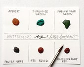 Dot Card - French Mineral Colors #2