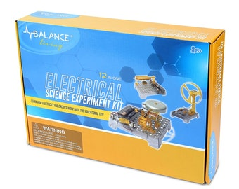 Balance Living Electrical Science Experiment Kit (Box size 17 X 7 inch)