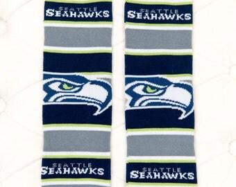 Seattle Seahawks Baby Leg Warmers