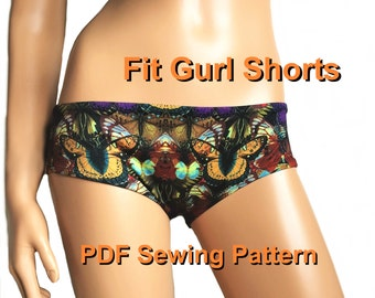 Fit Gurl Shorts (10 Sizes: 25 to 34)