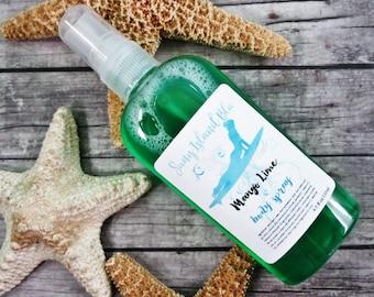 Body Spray - Mango Lime Body Mist - Body Splash - Lime Body Mist - Body Splash Mist - Mango Body Spray - Body Perfume