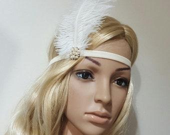 SALE Hippie Headband, Flower Girl headband, Gatsby Headband, Flapper Headband, Bohemian Headband, turban Headband, Vintage Boho headband