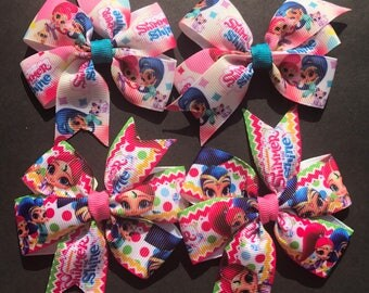 Shimmer and Shine Pigtails