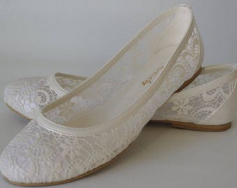 Wedding shoes, Bridal shoes, Wedding shoes flats, Handmade lace flats, wedding shoe designed specially 1006