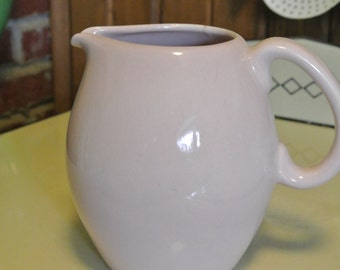 Pink Vintage Pitcher Russel Wright Iroquois
