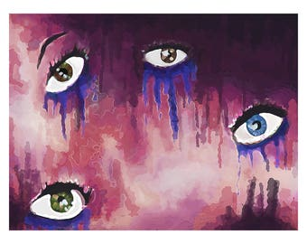 Eyes Crying Color