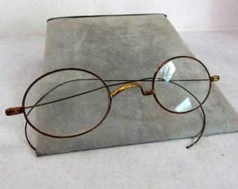 Vintage Wire Eye Glasses