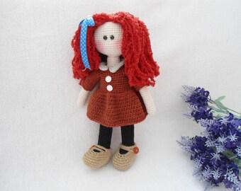 Pretty doll crochet pattern / Doll crochet