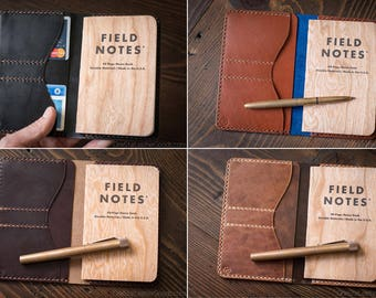 "BUILD-YOUR-OWN ""Park Sloper No Pen"" Field Notes wallet"
