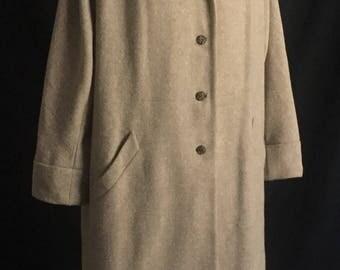 Vintage 1940's Neiman Marcus Pietro Wool Duster Coat