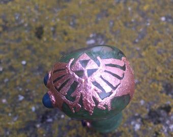 Electroformed Zelda Pipe