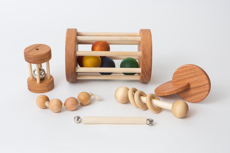 montessori baby set of 6 toys montessori by. Black Bedroom Furniture Sets. Home Design Ideas