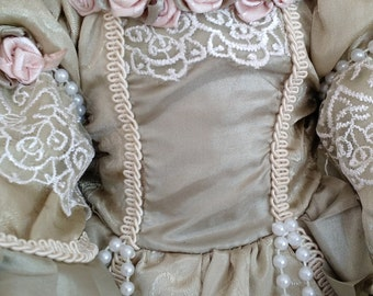 Victorian Doll Gown