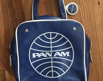 Retro PanAm Defiance Tote Bag, Navy
