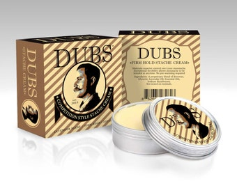 "DUBS Stache Cream ""FIRM"" - Moustache Wax"