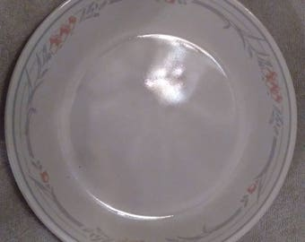 "Corelle Rose Pattern 10"" Dinner plate"