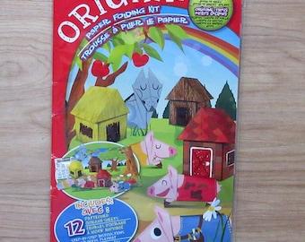 Origami Paper Folding Kit Three Little Pigs Origami