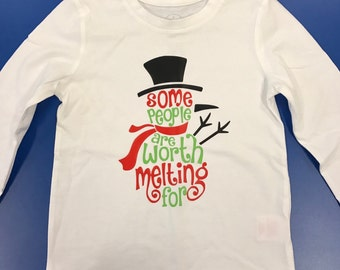 Some People Are Worth Melting For TShirt